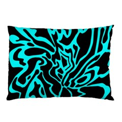 Cyan decor Pillow Case (Two Sides)