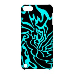 Cyan decor Apple iPod Touch 5 Hardshell Case with Stand