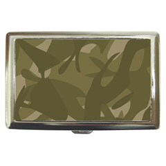 Green Camo Pattern Cigarette Money Cases