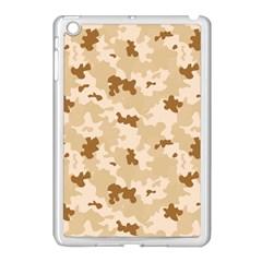 Desert Camo Pattern Apple iPad Mini Case (White)