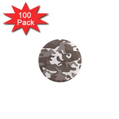 Urban Camo Pattern 1  Mini Magnets (100 pack)