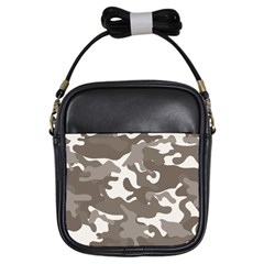 Urban Camo Pattern Girls Sling Bags