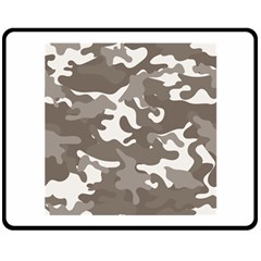 Urban Camo Pattern Double Sided Fleece Blanket (Medium)