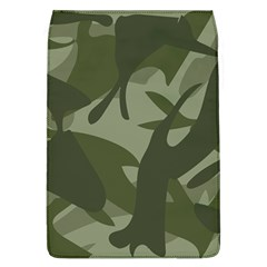 Green Camouflage Pattern Flap Covers (L)