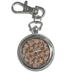 Brown And Grey Camo Pattern Key Chain Watches