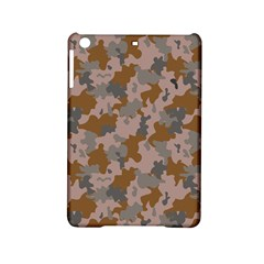 Brown And Grey Camo Pattern iPad Mini 2 Hardshell Cases