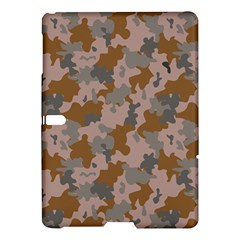 Brown And Grey Camo Pattern Samsung Galaxy Tab S (10.5 ) Hardshell Case
