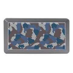 Blue And Grey Camo Pattern Memory Card Reader (Mini)