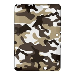 Urban White And Brown Camo Pattern Kindle Fire HDX 8.9  Hardshell Case