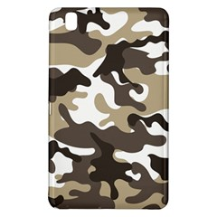 Urban White And Brown Camo Pattern Samsung Galaxy Tab Pro 8.4 Hardshell Case