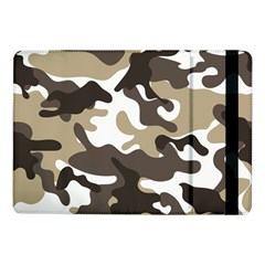 Urban White And Brown Camo Pattern Samsung Galaxy Tab Pro 10.1  Flip Case