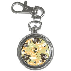 Pixel Desert Camo Pattern Key Chain Watches