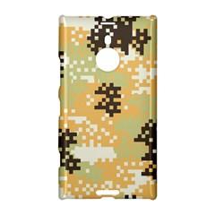 Pixel Desert Camo Pattern Nokia Lumia 1520