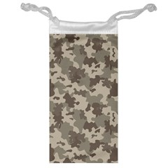 Grey Camouflage Pattern Jewelry Bags