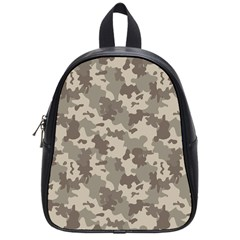 Grey Camouflage Pattern School Bags (Small)