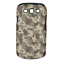 Grey Camouflage Pattern Samsung Galaxy S III Classic Hardshell Case (PC+Silicone)