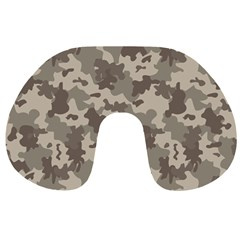 Grey Camouflage Pattern Travel Neck Pillows