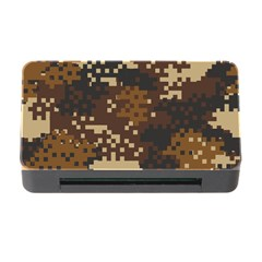 Pixel Brown Camo Pattern Memory Card Reader with CF