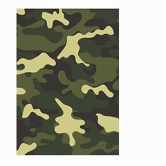 Green Camo Pattern Large Garden Flag (Two Sides)