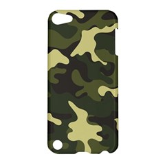 Green Camo Pattern Apple iPod Touch 5 Hardshell Case