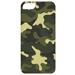 Green Camo Pattern Apple iPhone 5 Classic Hardshell Case