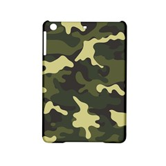 Green Camo Pattern iPad Mini 2 Hardshell Cases