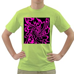 Magenta and black Green T-Shirt
