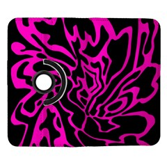 Magenta and black Samsung Galaxy Note II Flip 360 Case