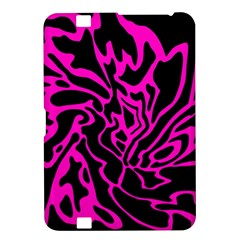Magenta and black Kindle Fire HD 8.9