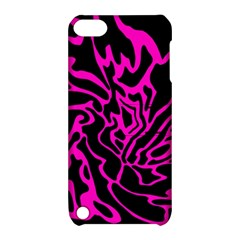 Magenta and black Apple iPod Touch 5 Hardshell Case with Stand