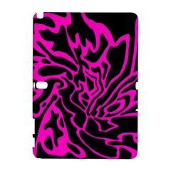 Magenta and black Samsung Galaxy Note 10.1 (P600) Hardshell Case