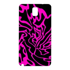 Magenta and black Samsung Galaxy Note 3 N9005 Hardshell Back Case