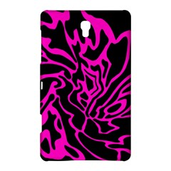 Magenta and black Samsung Galaxy Tab S (8.4 ) Hardshell Case