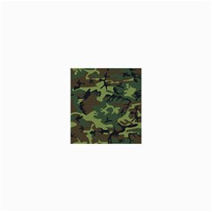 Woodland Camouflage Pattern Collage Prints