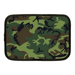 Woodland Camouflage Pattern Netbook Case (Medium)