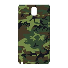 Woodland Camouflage Pattern Samsung Galaxy Note 3 N9005 Hardshell Back Case