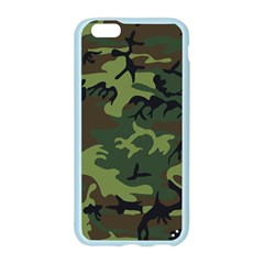 Woodland Camouflage Pattern Apple Seamless iPhone 6/6S Case (Color)