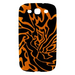Orange and black Samsung Galaxy S III Hardshell Case