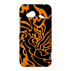 Orange and black HTC Droid Incredible 4G LTE Hardshell Case