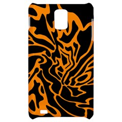 Orange and black Samsung Infuse 4G Hardshell Case