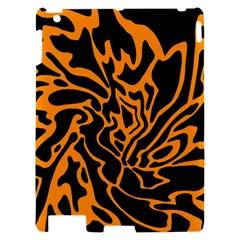 Orange and black Apple iPad 2 Hardshell Case