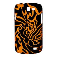 Orange and black Samsung Galaxy Express I8730 Hardshell Case