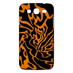 Orange and black Samsung Galaxy Mega 5.8 I9152 Hardshell Case