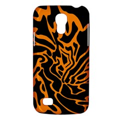 Orange and black Galaxy S4 Mini