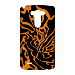 Orange and black LG G3 Hardshell Case
