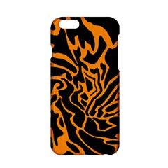 Orange and black Apple iPhone 6/6S Hardshell Case