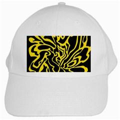 Black and yellow White Cap