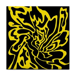 Black and yellow Face Towel