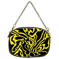 Black and yellow Chain Purses (Two Sides)