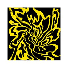 Black and yellow Acrylic Tangram Puzzle (6  x 6 )